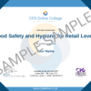 Food Safety and Hygiene for Retail Level 2 CPD Certificate