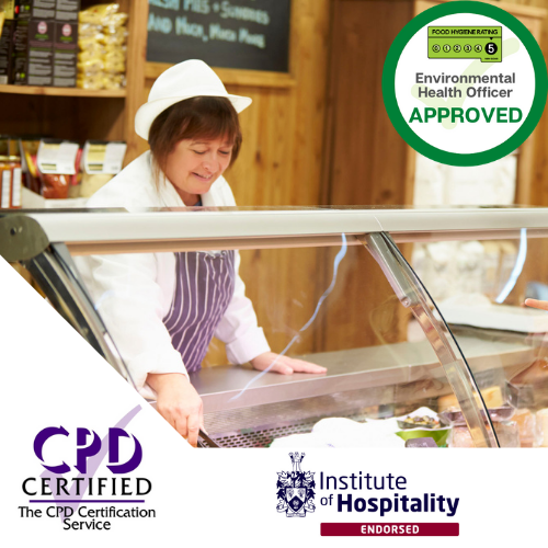 food hygiene safety for retail course