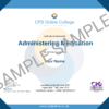 Administering Medication CPD Certificate