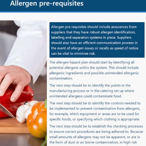 Allergen Awareness Unit 1 slide