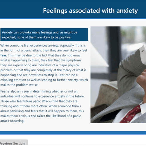 Anxiety Awareness Unit 1 Slide
