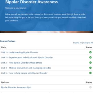Bipolar Disorder Awareness Unit Slide