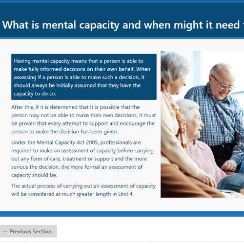 Deprivation of liberty safeguards unit 1 slide