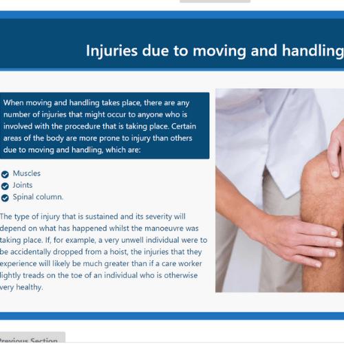 Moving and Handling Unit 2 Slide