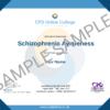 Schizophrenia Awareness CPD Certificate
