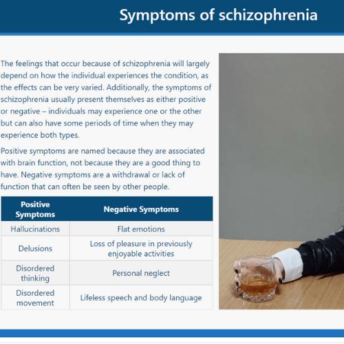 Schizophrenia Awareness Unit 2 Slide