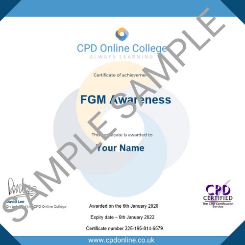 FGM PDF Certificate