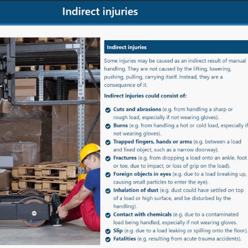 Manual Handling Unit 1 Slide