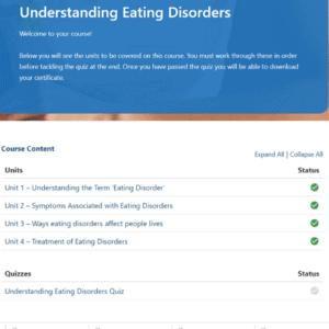 Understanding Eating Disorders Units Slides
