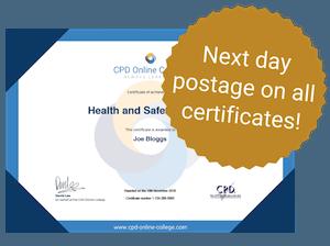 Next day certificates