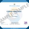 COSHH Awareness College Certificate