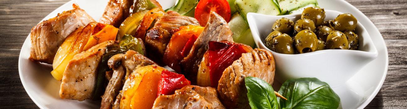 food platter of high risk foods