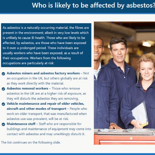 Asbestos Awareness Unit 5 Slide