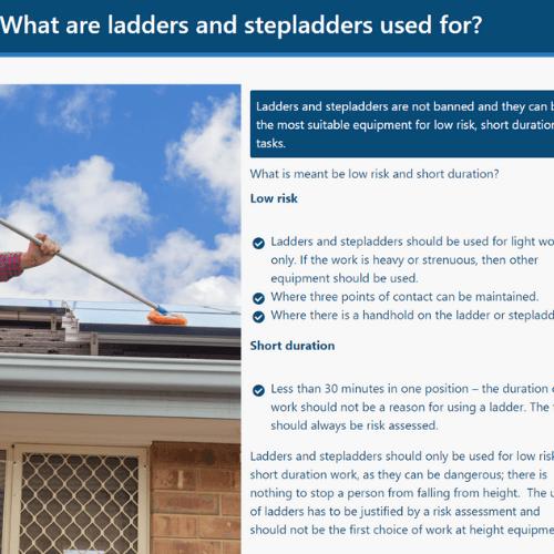 Ladder Safety Unit 4 Slide