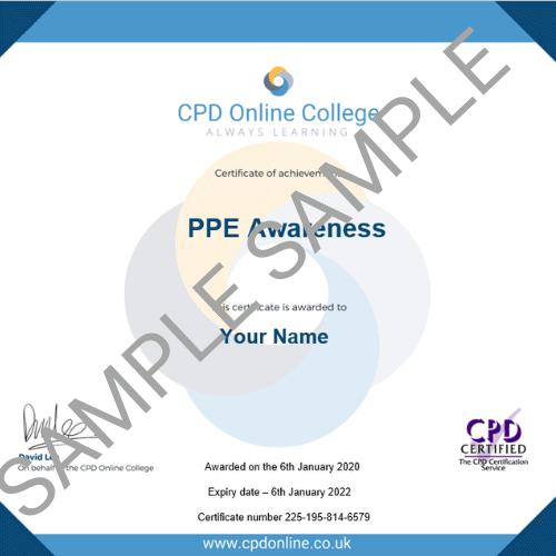 PPE PDF Certificate