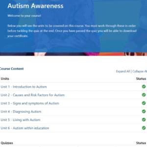 Autism Awareness Units Slide
