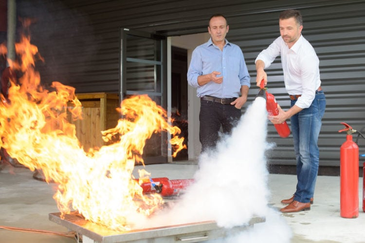 Quiz: Which fire extinguisher should I use?