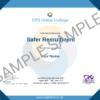 Safer Recruitment CPD Certificate