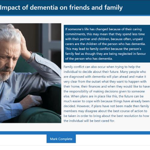 Dementia Care Unit 5 Slide
