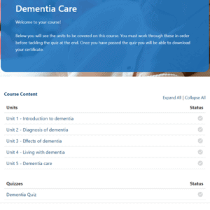 Dementia Care Units Slide