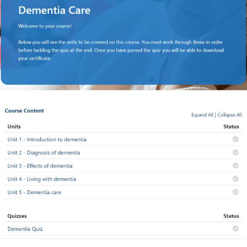 Dementia Care Units Slide