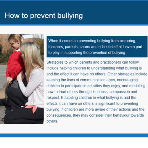 Understanding Bullying Unit 1 Slide