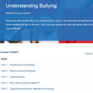 Understanding Bullying Unit Overview