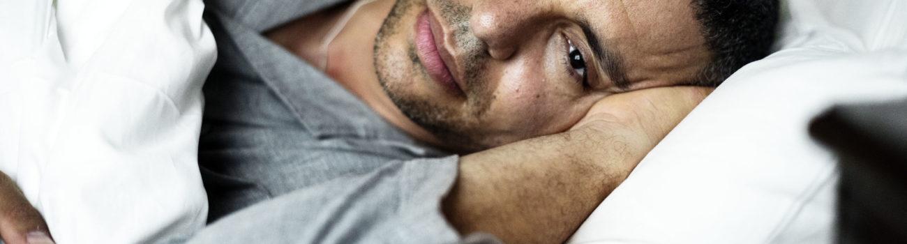 Men's Mental Health - Man struggling with depression