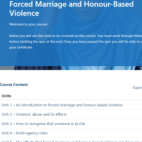 Forced Marriage Unit Slide