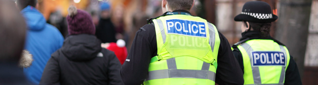 Police as a terrorist deterrent