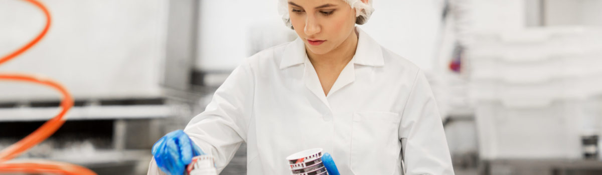 Food allergen packaging for manufacturing