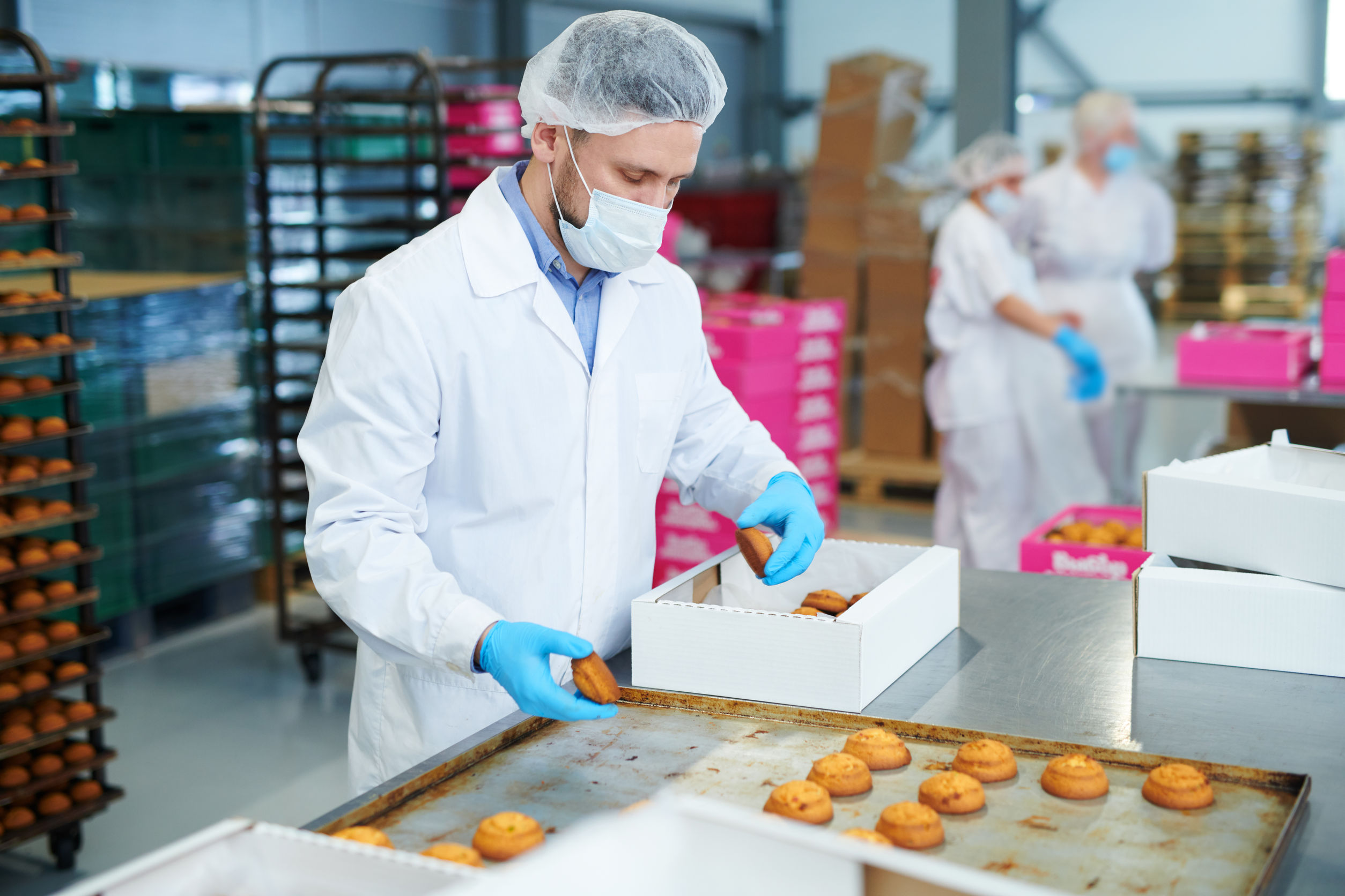 Food allergens for manufacturers