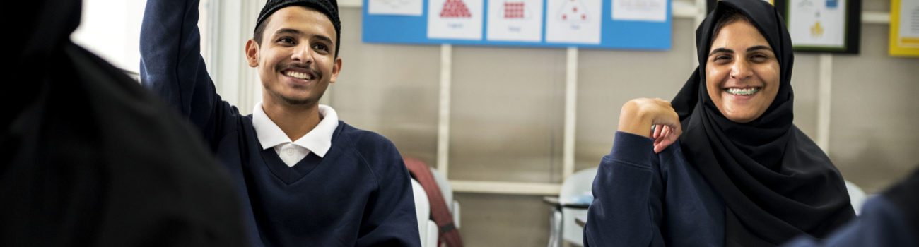 Muslim pupils in UK school