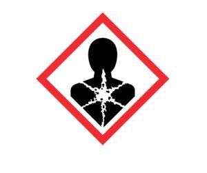 Longer-term health hazard symbol