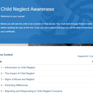 Child Neglect Awareness Overview