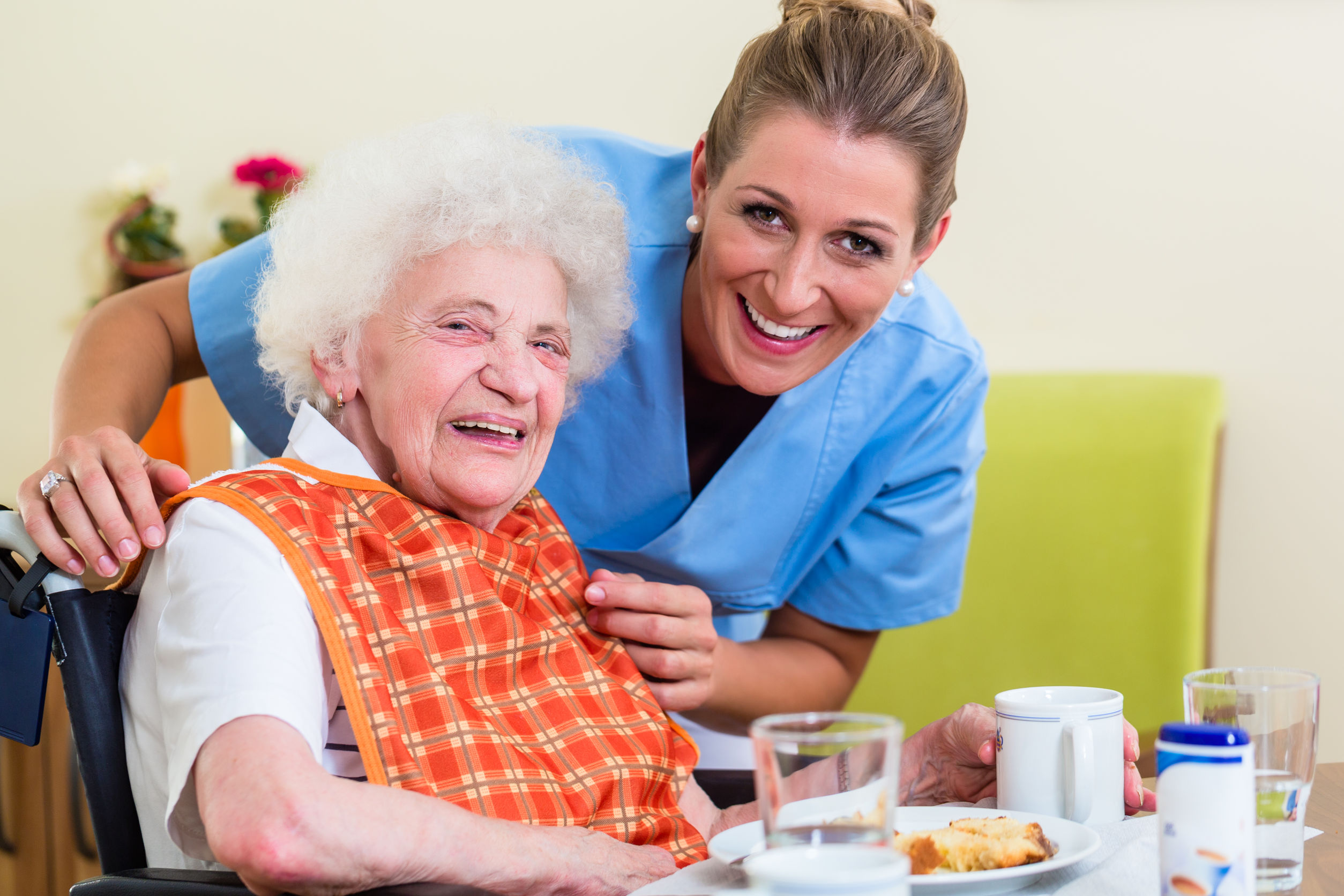 Nurse supporting vulnerable adult who is lacking capacity