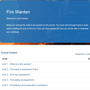 Fire Warden Overview