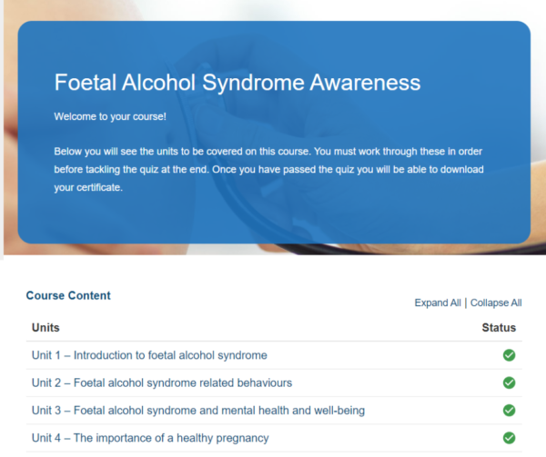 Foetal Alcohol Syndrome Awareness Overview
