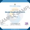 Mental Health In Schools CPD Certificate