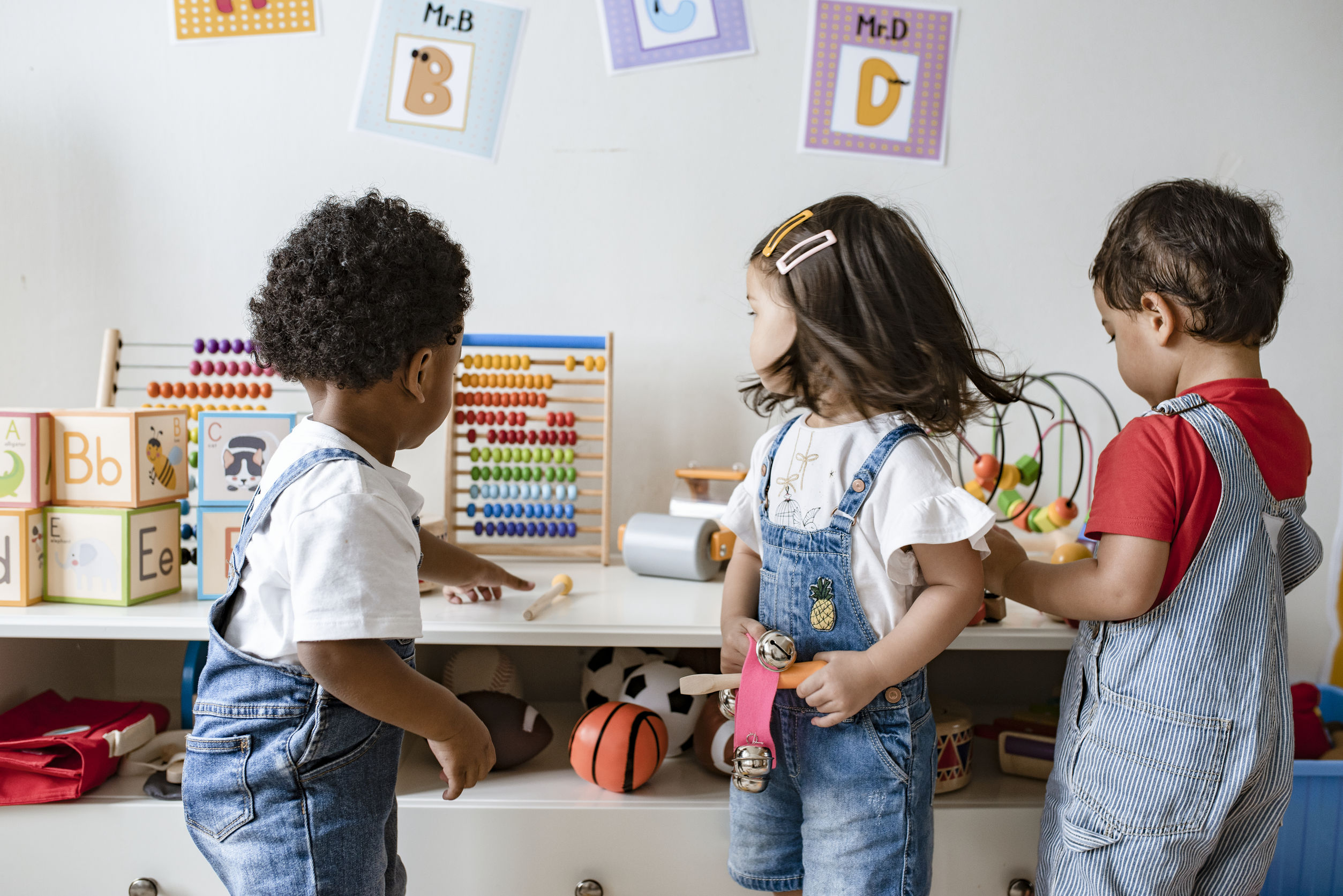 Promoting positive behaviour in nurseries