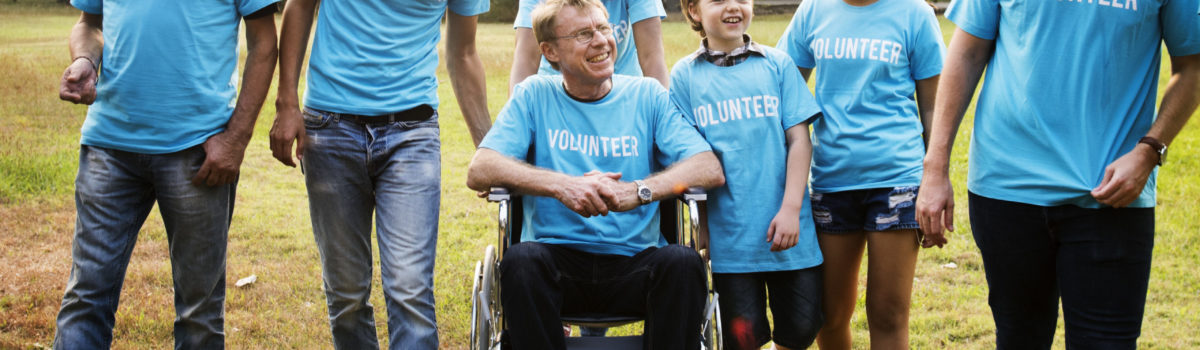 Volunteers responsible for protecting vulnerable adult