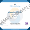 Abrasive Wheels CPD Certificate