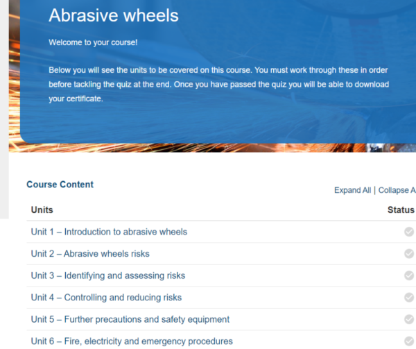 Abrasive Wheel Overview