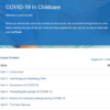 COVID-19 In Childcare Overview