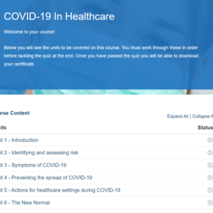 COVID-19 In Healthcare Overview