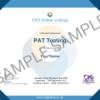 PAT Testing CPD Certificate
