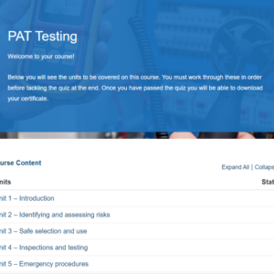 PAT Testing Overview