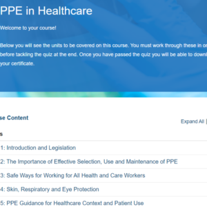 PPE In Healthcare Overview