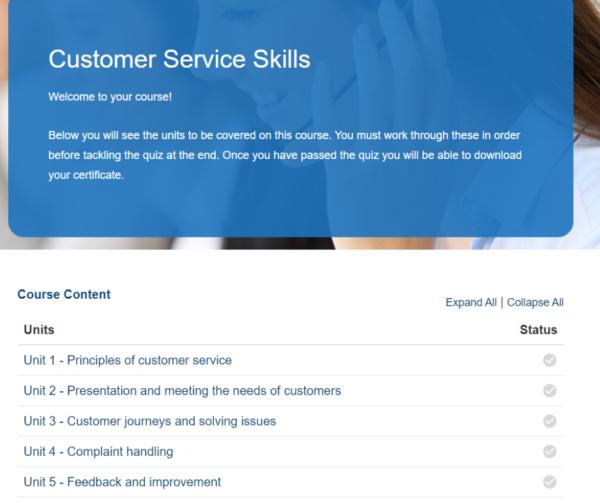 Customer Service Skills Overview