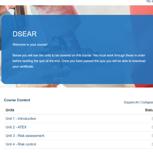 DSEAR Course Overview